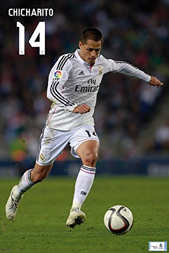Real Madrid - Poster - Chicharito 2014/2015 + Ü-Poster - Madrid Real 2014-poster