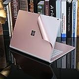 YOUNGE Microsoft Surface Book Aufkleber Skin Case Decals, Premium 3M Oberfläche Buch Decal dekorative Protector, Satz von 4 Abschnitt -13,5 Zoll (das Champaign-Gold)