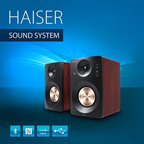 Haiser Hsr 120 Bt 60 Watt Rms Aktiv Studio Lautsprecher Mit