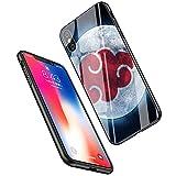 LiangChu 9h Le Verre trempé iphone XR, LC-1 Akatsuki Pein Konan Conception Anti - zéro Douce Impression antichocs Silicone TPU Couvrir pour Apple iphone XR téléphone