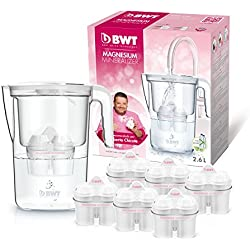 BWT Leben manuell besondere Tischwasserfilter, Polymere Kunststoffe, Weiß, 11.5cm