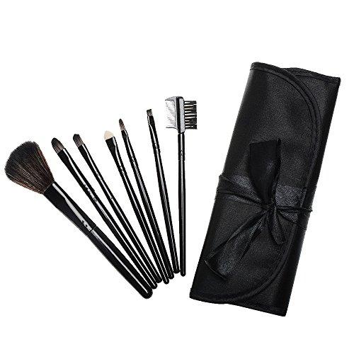 brosse professionnelle 7 pièces mis base de fard à joues brosse cosmétiques mélange visage yeux