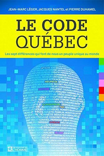 Le Code Québec par Jean-marc Leger
