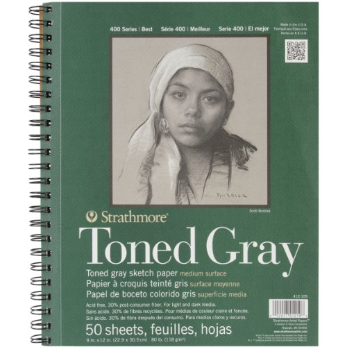 pro-art-paper-strathmore-toned-sketch-spiral-paper-pad-9-inch-x-12-inch-gray-50-sheets