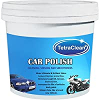 TetraClean Paste Car Polish for Exterior (1000 g) - Suitable for Car, Bike, Auto etc.