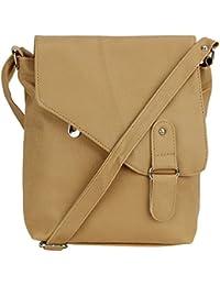 Pink Rose - Elegant Collection Brown Charm Sling Bag For Women/Men