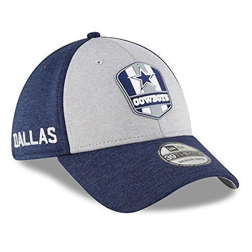 New Era 39THIRTY NFL auf Feld 2018 Stretch Fit Cap - Dallas Cowboys/Med-LGE