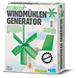 4M 663267 - Green Science - Windmühlen Generator
