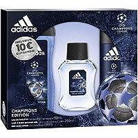 adidas uefa cl Champions Edition Eau de Toilette + Desodorante Body Spray + Gel De Ducha