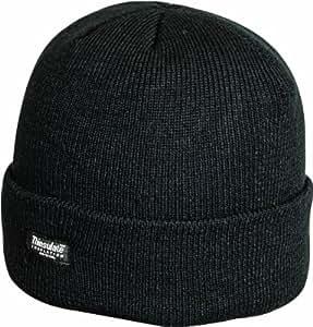 Highlander Thinsulate Ski Hat - Black, One Size