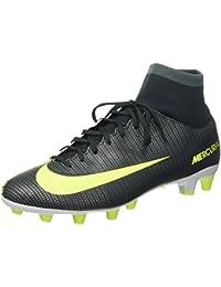 Nike Mercurial Vctry 6 Cr7 Df Agpro - Botas de fútbol de Material Sintético para hombre verde Size: