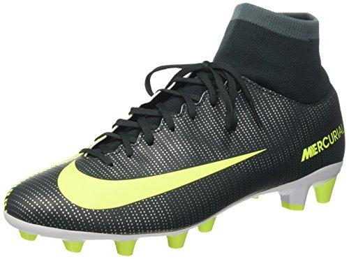 Nike  Mercurial Vctry 6 Cr7 Df Agpro, Herren Fußballschuhe, grün - Verde (Seaweed/Volt Hasta White) - Größe: 44.5 EU