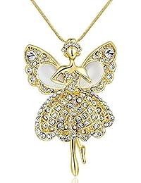 B.Z La Vie Ketten mit Anhanger Halsketten Fee lange Halskette 80 CM Weihnachtsgeschenke
