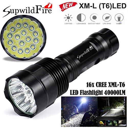 LinternaLinterna LED SupwildFire 40000Lm 16x XML T6