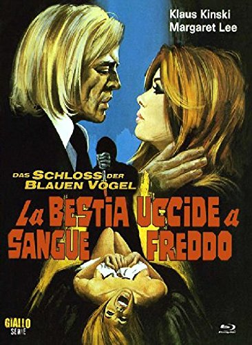 Das Schloss der blauen Vögel (La Bestia Uccide A Sangue Freddo) - Uncut/Mediabook (+ DVD) [Blu-ray] [Limited Edition]