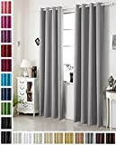 """Woltu #329 VH5878dg Blackout Curtain for Bedroom and Living room Dark Grey 54""""x90""""
