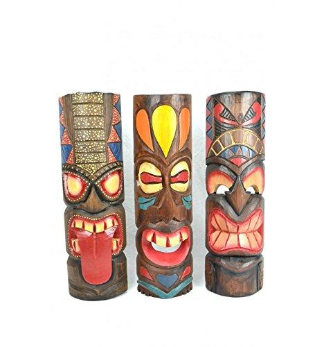 máscaras tiki hawaianas