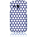 Sublinov Coque rigide pour Samsung Galaxy S3 Mini Motif Point Bleu