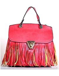 Hopping Street Zip Red Handbag