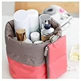 Makeup bag Waterproof Travel Kit, Organizer Bathroom Storage Cosmetic Bag With a Mini Bag, Jewelry Organizer,Men Shaving Kit Portable Luggage Bag for