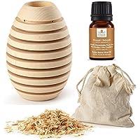 Pinus Cembra Aroma Duftbehälter Pine aus Zirbenholz mit Raumduftöl Zirbe Raumduft Lufterfrischer preisvergleich bei billige-tabletten.eu