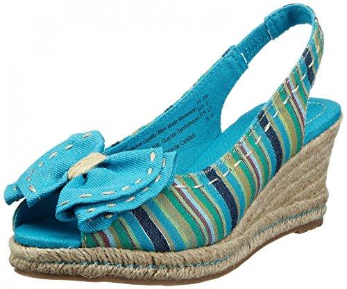 NaturalizerBola - Scarpe con cinturino alla caviglia Donna Turchese (Turquesa)