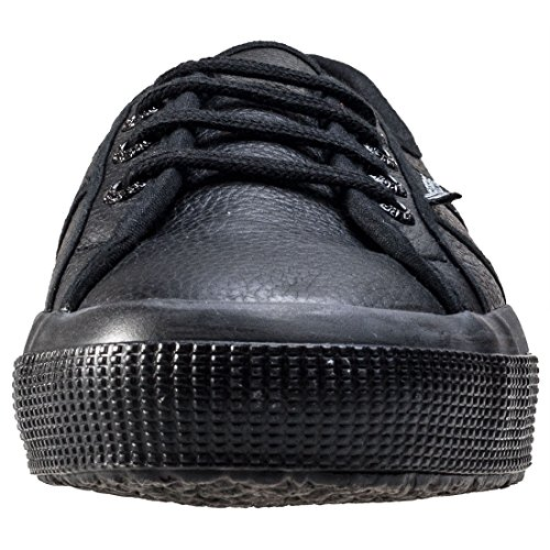 Superga Womens 2750 Efglu - Full Black Black Black