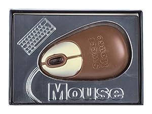 Ratón de ordenador de chocolate