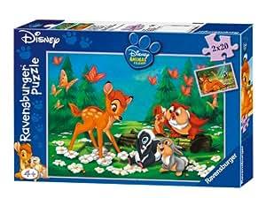 Ravensburger 08914 - Mein Freund Bambi, 2 x 20 Teile Puzzle