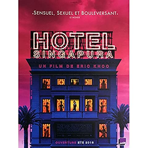 Hotel Singapura Movie Poster 15x 21in.–2015–Eric Khoo,