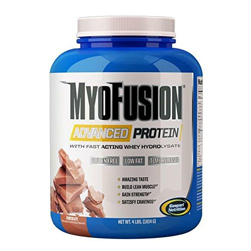 Gaspari Nutrition - Myofusion Advanced 4Lb Banana - 51ym4BHyRvL