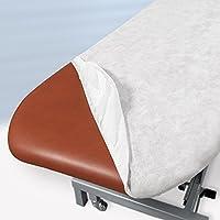 Sábana de camilla desechable ajustable color blanco 95 x 220 cm ...