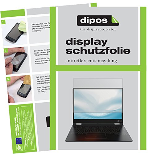 dipos I 2X Schutzfolie matt passend für Lenovo Yoga A12 Folie Bildschirmschutzfolie