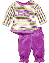 Schnizler 2-Piece Nicki Long Sleeve Shirt and Bottoms Striped, Chándal Para Bebés