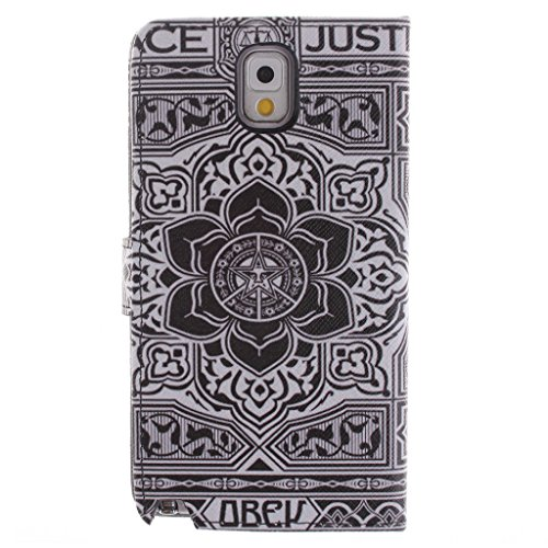 Nutbro [Galaxy Note 3] Note3 Case,Galaxy Note 3 Case,[Vertical Flip] iPhone Colorful Design Magnetic PU Leather Flip Case for Samsung Note 3 ZZ-Note3-26
