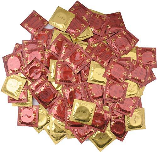AMOR Nature 50 Kondome aus Latex 53mm Gefühlsecht, Sicher und Reißfest (50 Stück)