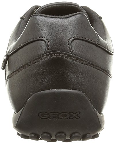 Geox U Snake B, Baskets Basses homme Noir (C9999)