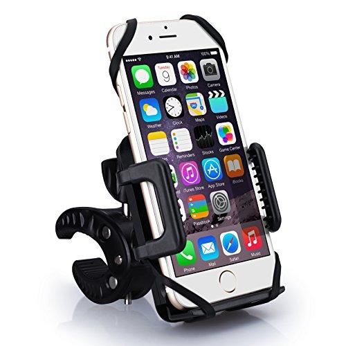 VICTSING Soporte Móvil para Bici y Moto, Apoyo 360 Rotación para iPhone y 3.5'' plugadas de Android