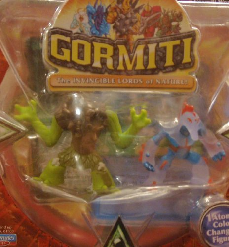 Gormiti Two Pack - Ancient Sentry & Quarry Sergeant of the Seas by Playmates