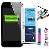 Trop Saint® Akku für iPhone 5-1440mAh/3,8V mit Werkzeug und Sticker