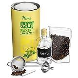 Home Gin Making Kit–Geschenk mit Box Gin Schöpfern Kit Wacholder, um Ihre eigenen Gin