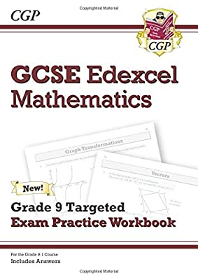 New GCSE Maths Edexcel Grade 8-9 Targeted Exam Practice Workbook (includes Answers) (CGP GCSE Maths 9-1 Revision) from Coordination Group Publications Ltd (Cgp)