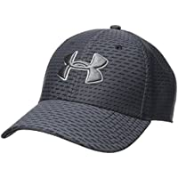 Under Armour Men's Printed Blitzing 3.0 Gorra, Hombre, Negro (001), M