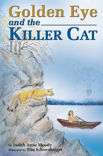 Golden Eye and the Killer Cat Cover Image