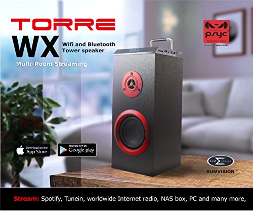sumvision-psyc-torre-wx-wi-fi-bluetooth-tower-speaker