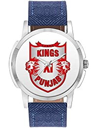 BigOwl Kings XI Punjab Design Analog Multicolor Dial Men & Boy's Watch- 2009098302-RS1-W-BLU