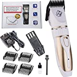 Pet Trimmer Dog Grooming Hair Clipper Basso Rumore Cordless Pet Grooming Tool Kit Cane Rasoio per Cani,B