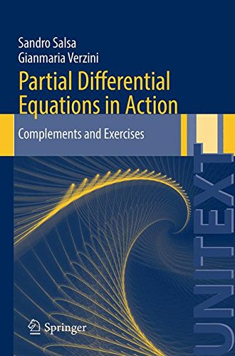 Partial Differential Equations in Action: Complements and Exercises (UNITEXT) par Sandro Salsa
