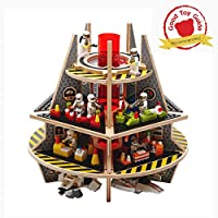 Base Ace 3D Play Platform for Mini Figures, Kit 3 Special Edition, compatible with all major construction toy building brick brands
