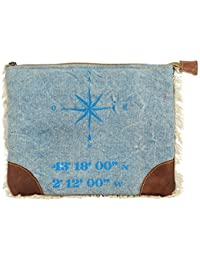 Priti Luxury Piece Design Washed Canvas Small Pouches For Pencil Medicines Storage Pouch